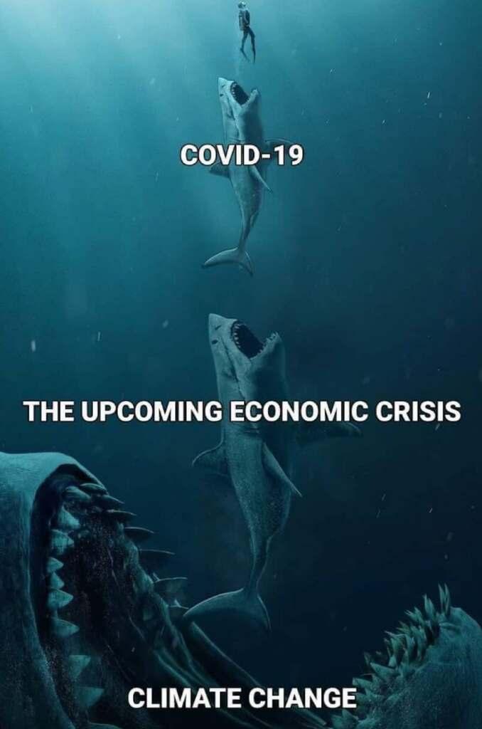 Ilmastonmuutos on paljon isompi uhka kuin Covid-19