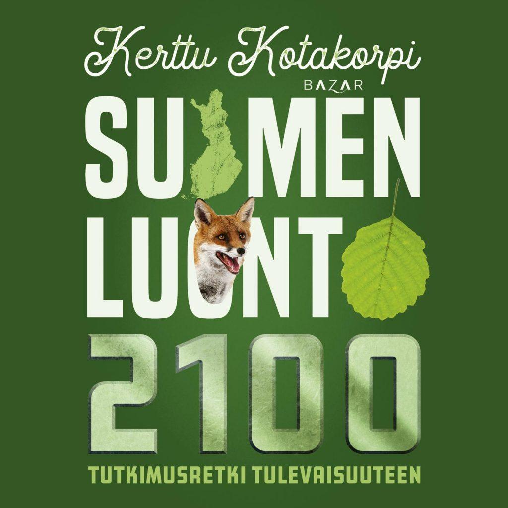 Suomen luonto 2100 -kirjan kansi